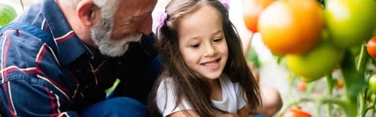 Grandad & Grand Daughter